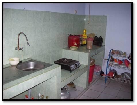 Dapur dan gudang