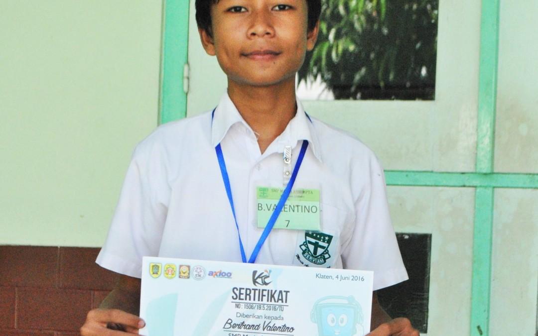 SMP Maria Assumpta Juara Lomba TIK