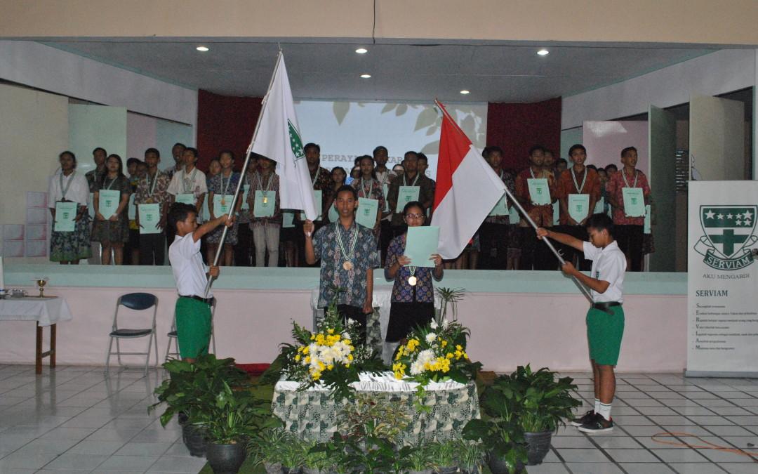 """""""Graduation Day"""" Kusuma Bangsa SMP Maria Assumpta"""
