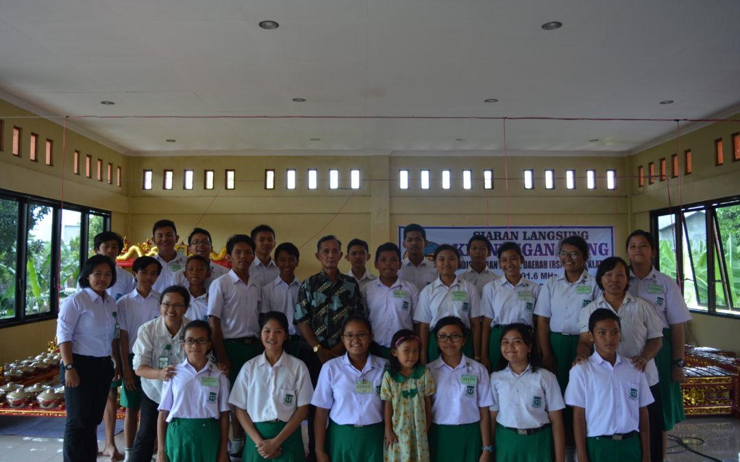 Siaran Tim Pengrawit SMP Maria Assumpta di RSPD