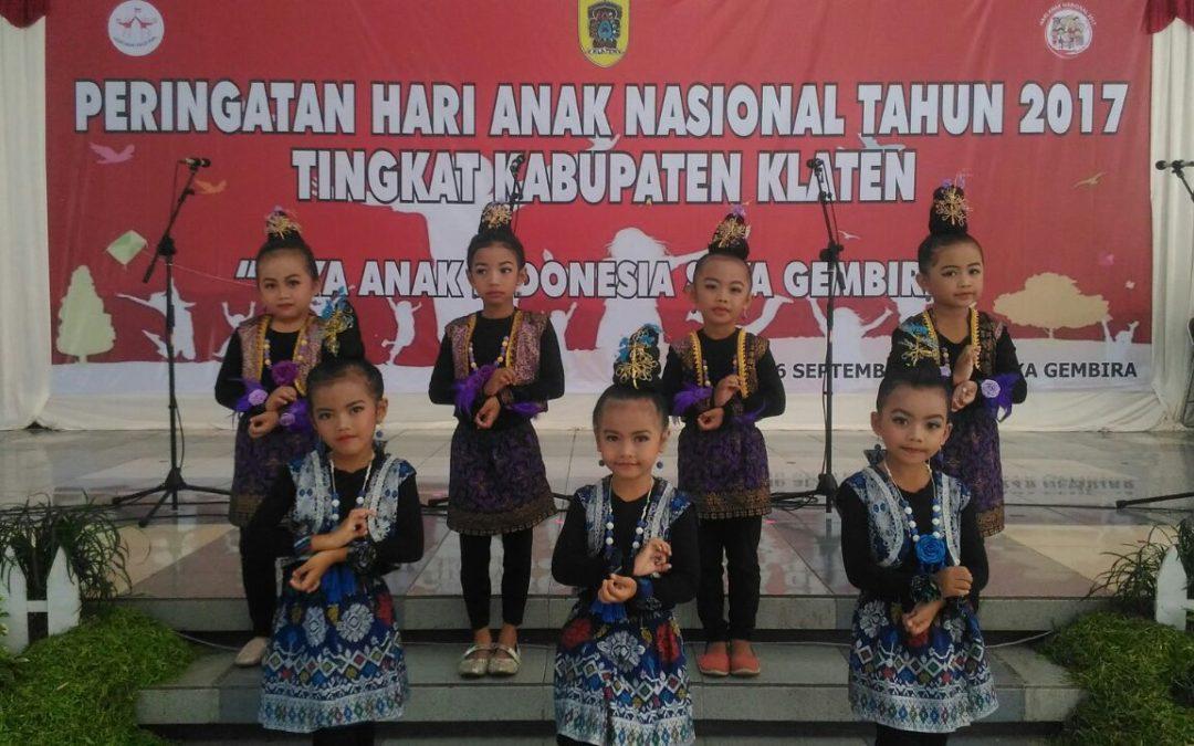 Penampilan dalam acara Hari Anak Nasional