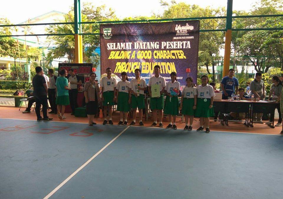 SMP Maria Assumpta Juara 2 Musikalisasi Puisi Ursuline Week