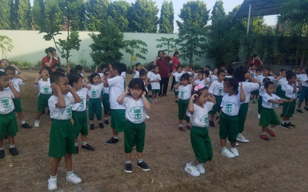 Keseruan Kami Belajar Mengenal Panca Indera