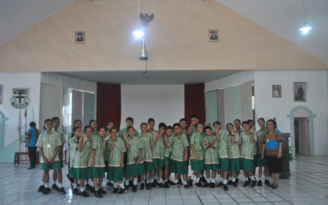 Serah Terima Tongkat Estafet Pengurus OSIS 2018/2019