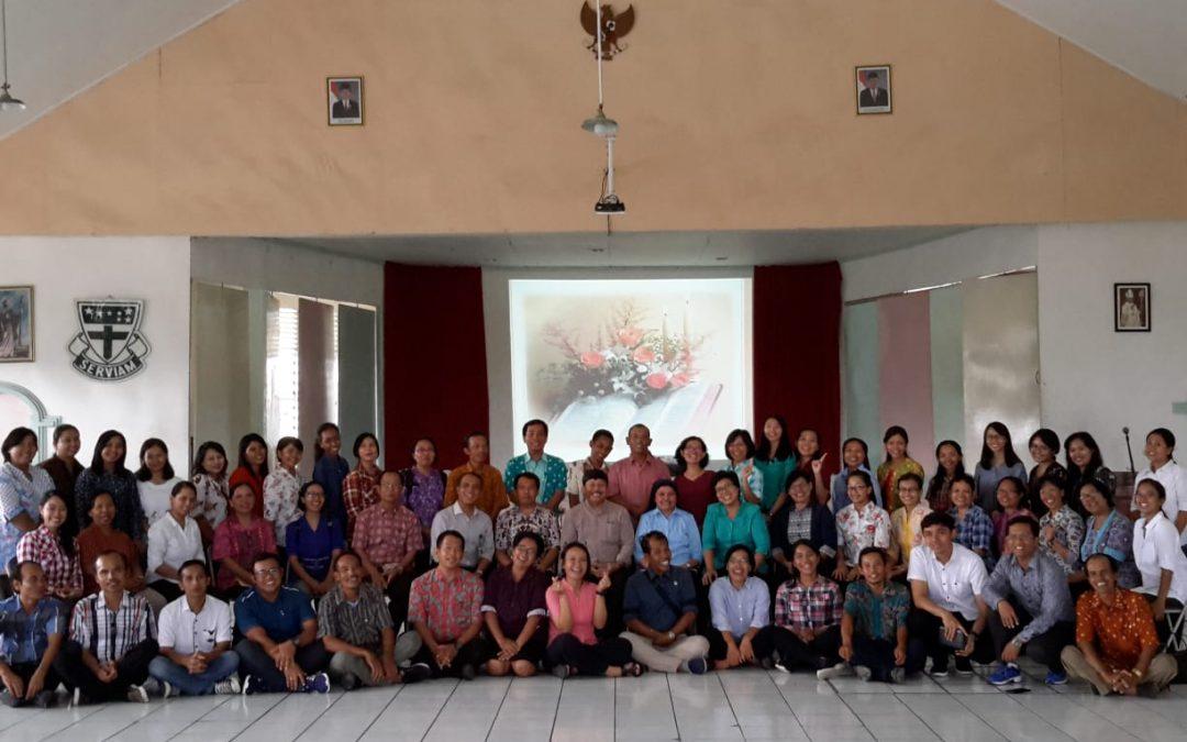 Rekoleksi Laudato Si', Kampus Maria Assumpta Merawat Ibu Pertiwi