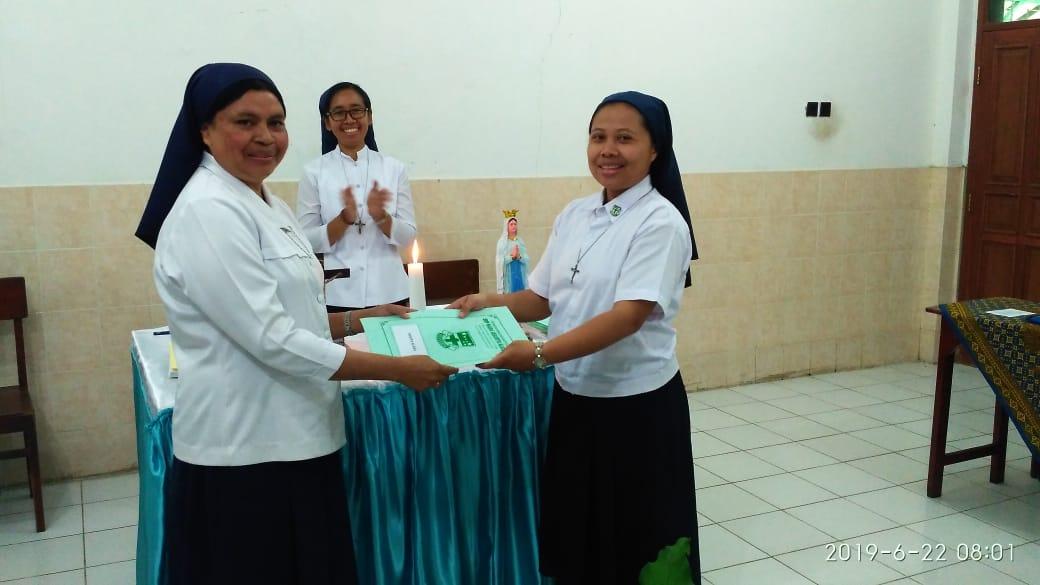 Pergantian Estafet Kepemimpinan SMP Maria Assumpta, Harapan Menyongsong Masa Depan Lebih Baik