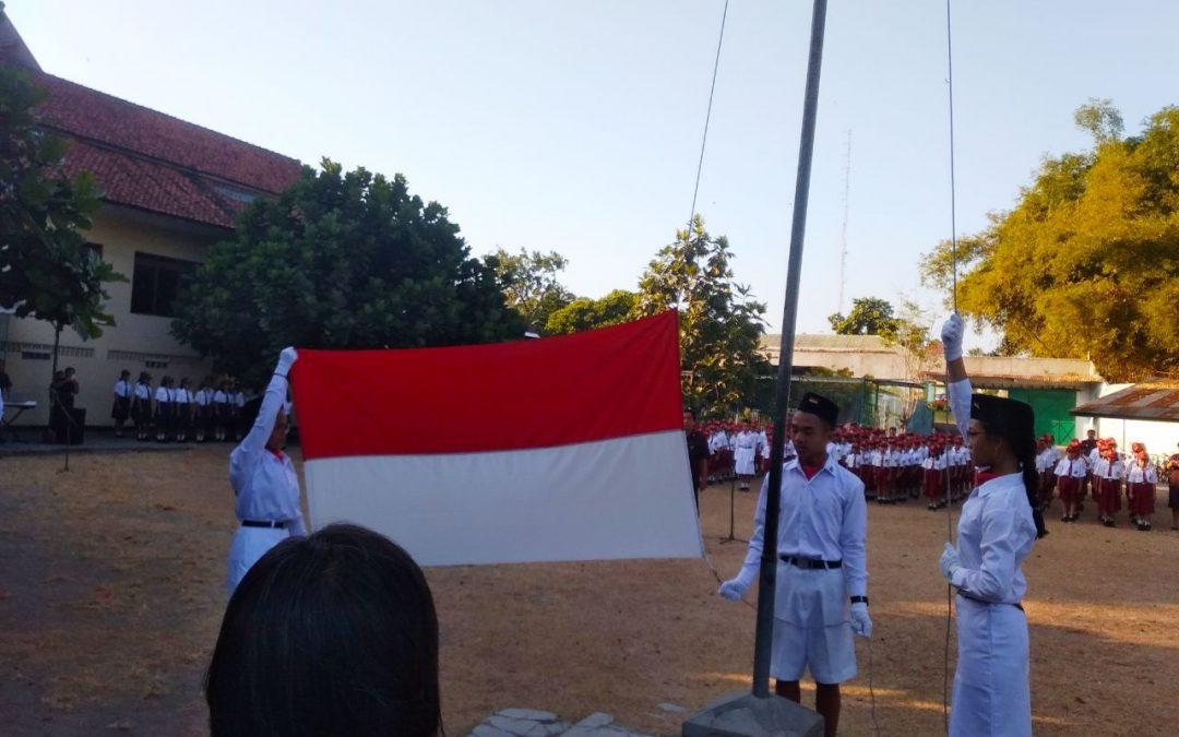 Upacara Peringatan 74 Tahun Indonesia Merdeka di Kampus Maria Assumpta