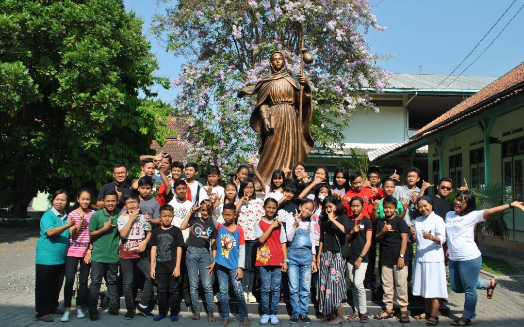 LDK Calon Pengurus OSIS dan Anggota Dewan Penggalang SMP Maria Assumpta 2019/2020
