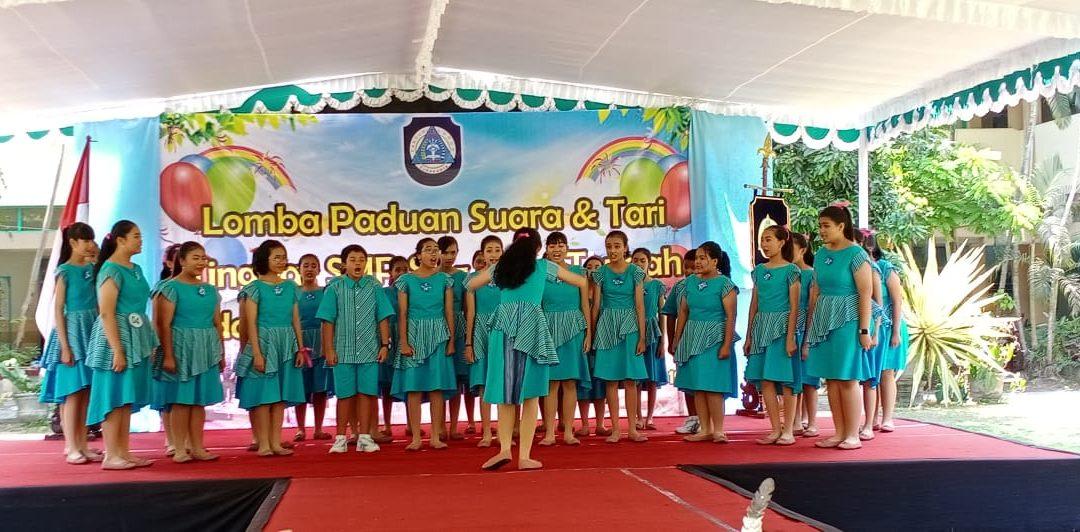 SMP Maria Assumpta Juara Lomba Paduan Suara se-Jawa Tengah