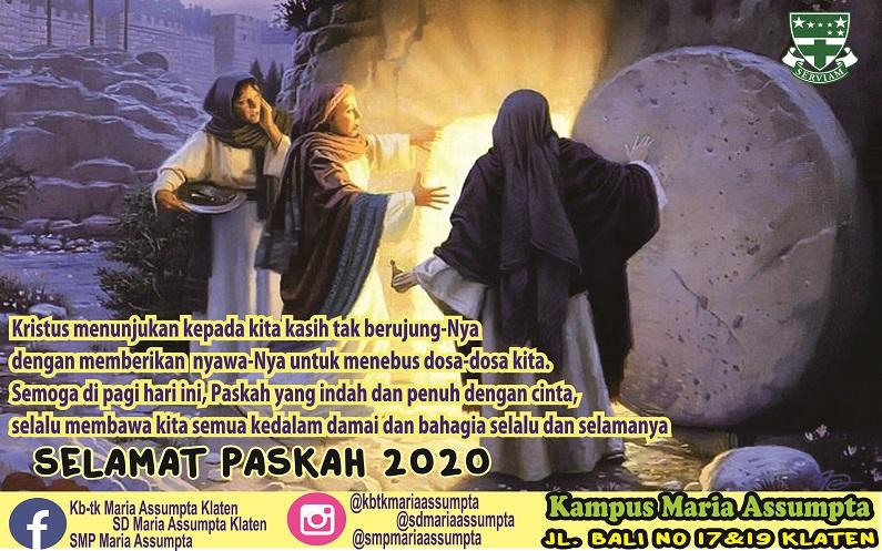 Selamat Paskah 2020