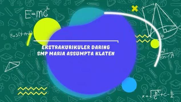 Ekstrakurikuler Pramuka Online SMP Maria Assumpta