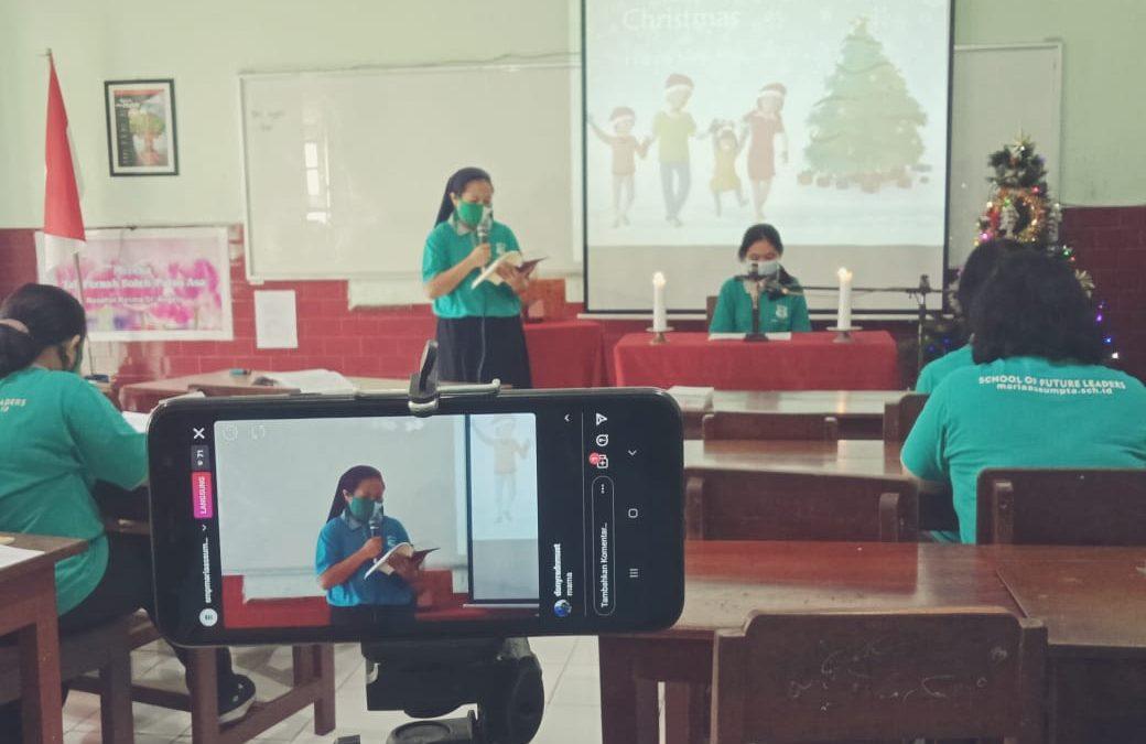 Ibadat Virtual Natal dan Tahun Baru SMP Maria Assumpta