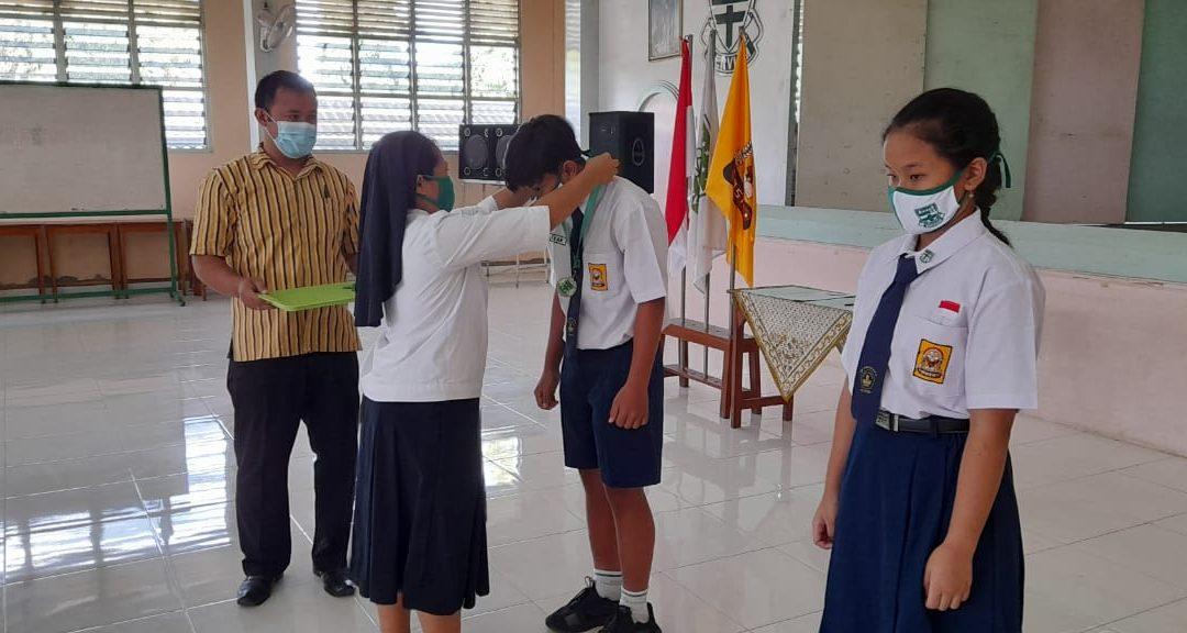 Pelantikan Pengurus OSIS SMP Maria Assumpta 2020/2021