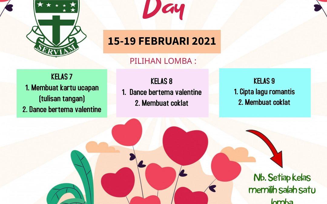 Pengumuman Lomba Valentine 2021 SMP Maria Assumpta