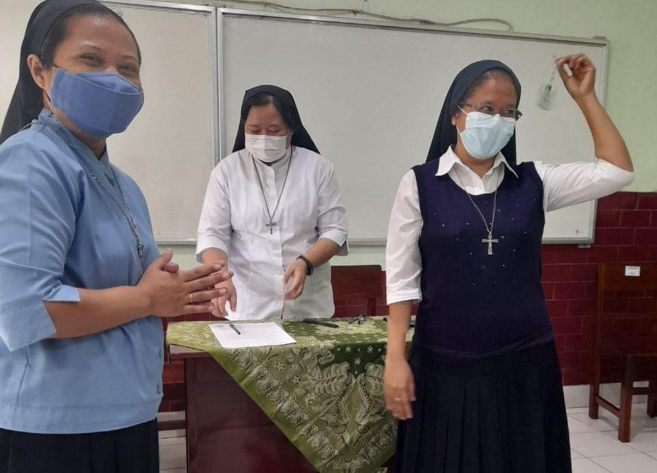 Serah Terima Jabatan Kepala SMP Maria Assumpa Klaten