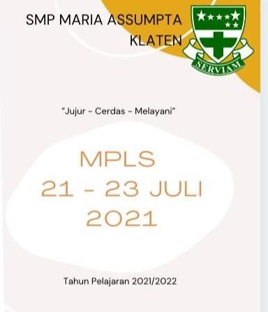 Kegiatan MPLS SMP Maria Assumpta Tahun Pelajaran 2021/2022