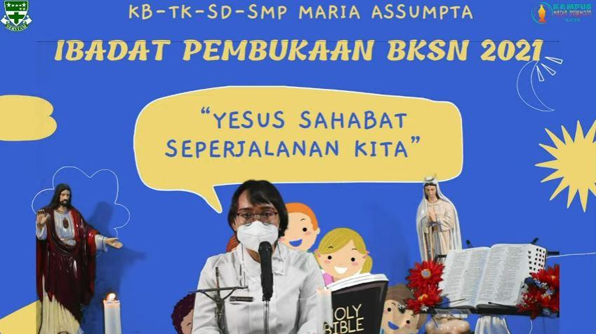 BKSN 2021, Menjadikan Yesus Sahabat Seperjalanan Kita